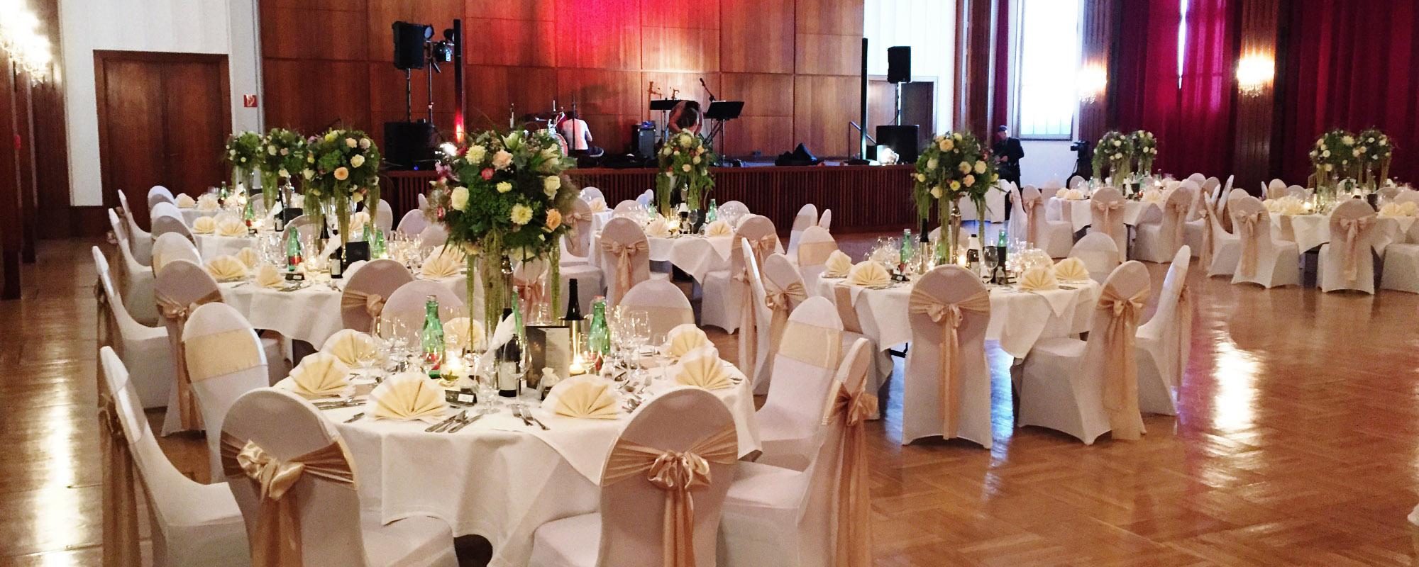 Stilvolle Hochzeit