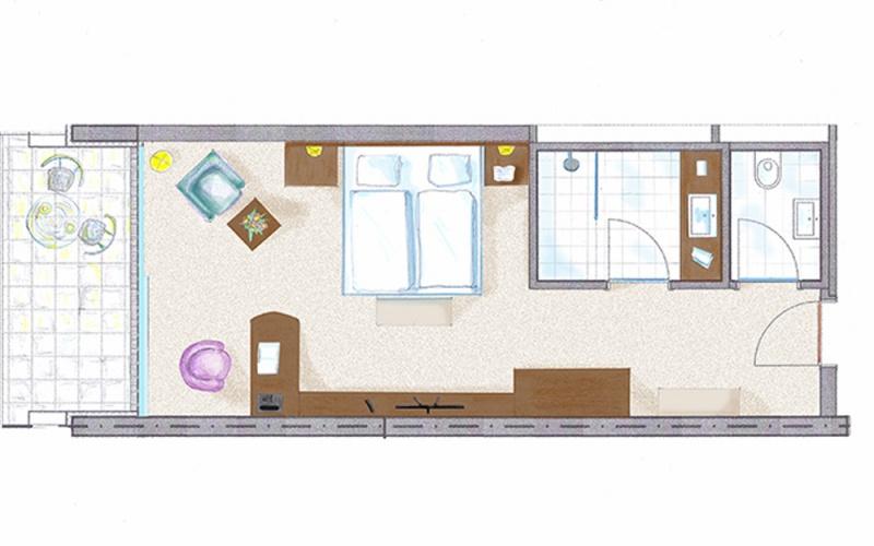 10 Doppelzimmer